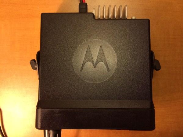 Motorola MOTOTRBO XPR 5550 -Top View