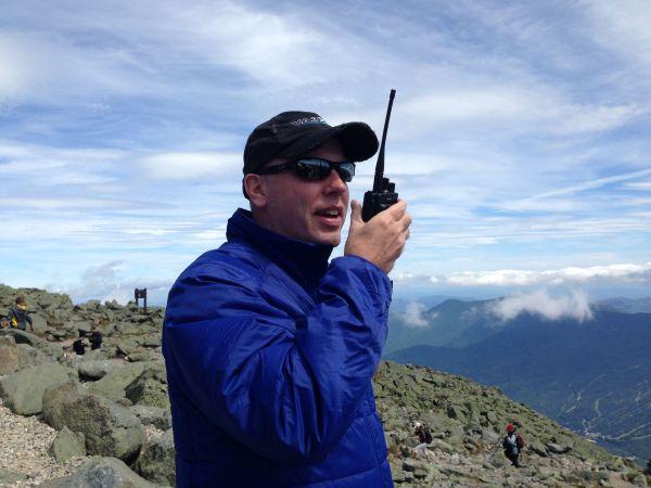 Don Trynor VA3XFT Mount Washington Motorola XPR 7550 MOTOTRBO