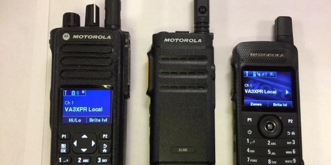 Motorola SL300 MOTOTRBO