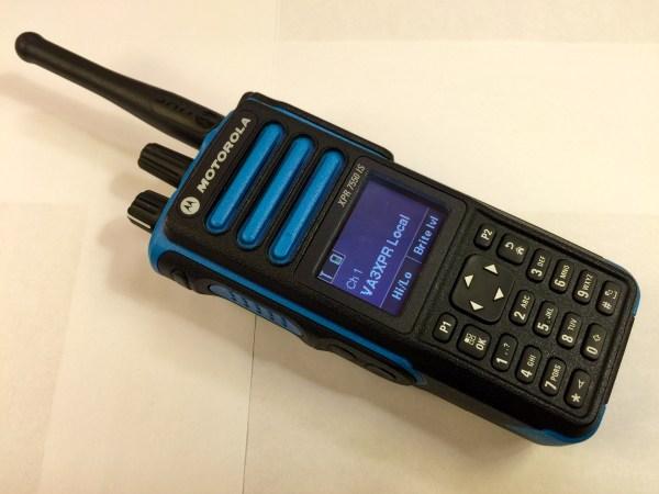XPR7550 I.S. IS intrinsically safe MOTOTRBO radio ham amateur Motorola