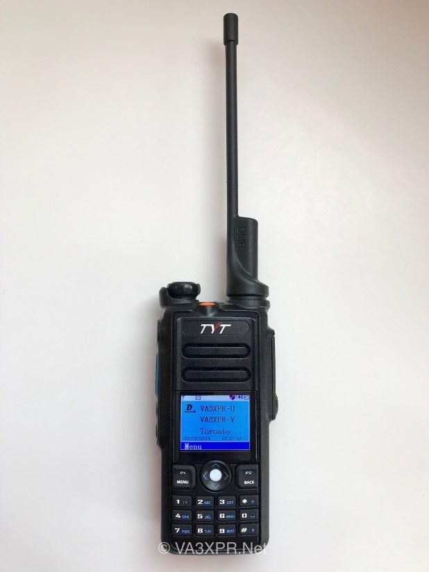 TYT MD-2017 dual band DMR portable radio ham
