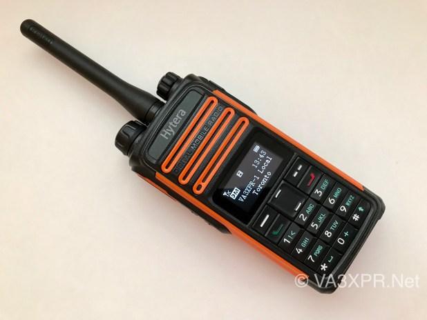 Hytera TD580 UHF DMR radio ham