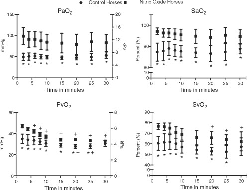 Oxygenation and plasma endothelin‐1 concentrations in