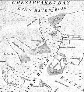 1879 survey of Lynnhaven Bay and Lynnhaven River