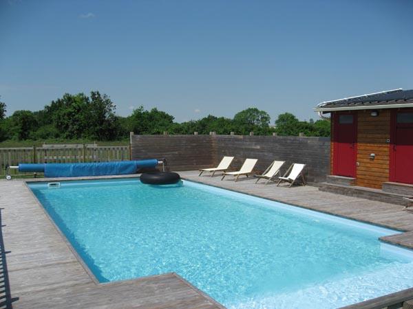 Gite avec piscine chauffe Loire Atlantique  Gite et Nature  VacancesavecPiscinecom