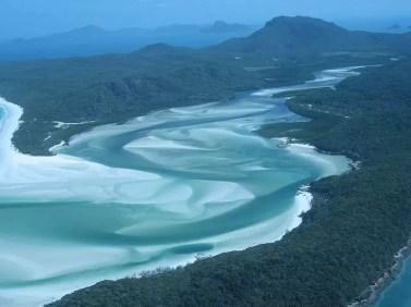 Whitehaven Beach en Australie