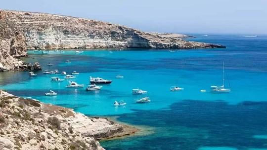 Lampedusa : Le paradis des plongeurs !