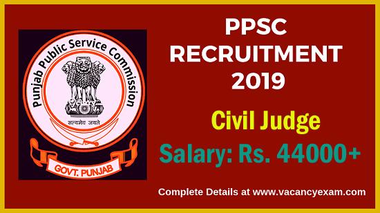 ppsc recruitment of civil judge