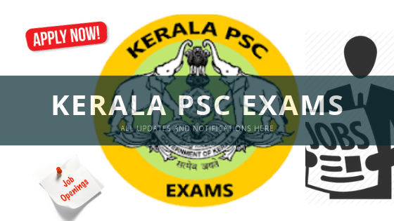 kerala psc exam updates