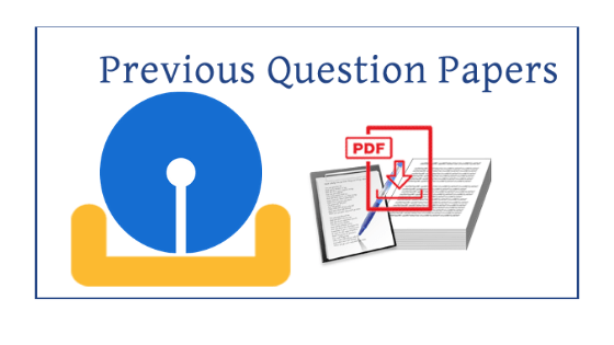 sbi previous year question papers