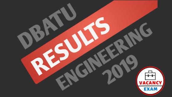 dbatu result b.tech m.tech