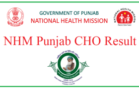 punjab nhm result of community health officer