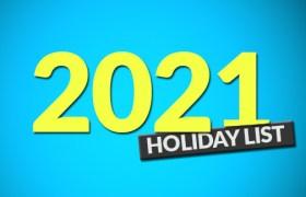 Punjab Government Holidays 2021
