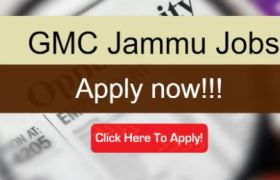 gmc jammu recruitment 2020