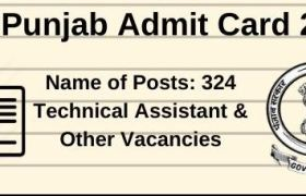 dgr punjab admit card 2020