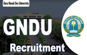 gndu amritsar recruitment 2020