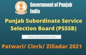 psssb patwari ziledar recruitment 2021