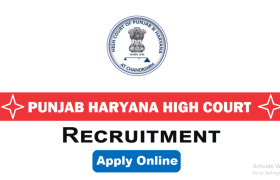 punjab and haryana high court recruitment 2021