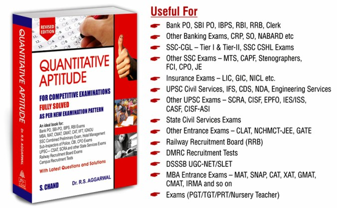 rs aggarwal quantitative aptitude pdf