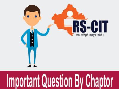 rscit important questions