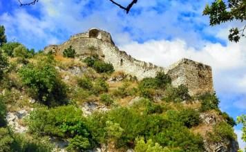 Il castello di Rozafa a Scutari, Albania