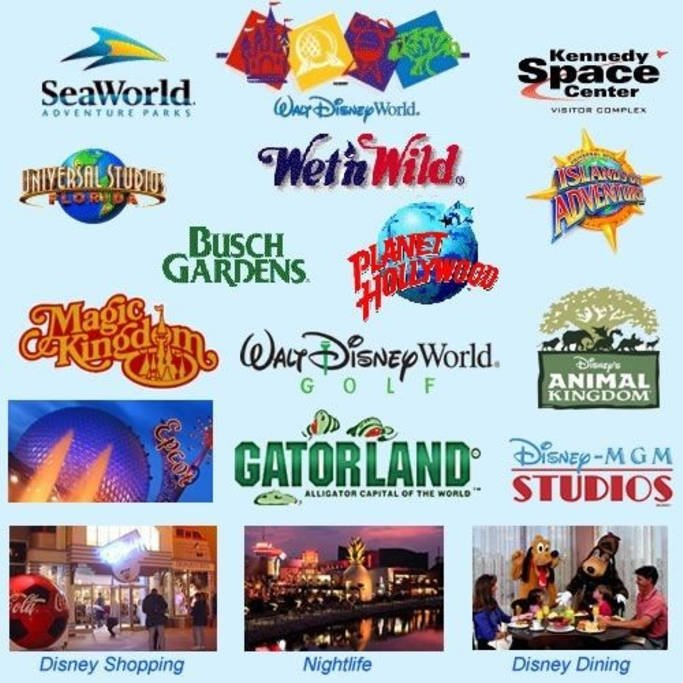 Attrazioni di Orlando (Florida) e dei dintorni