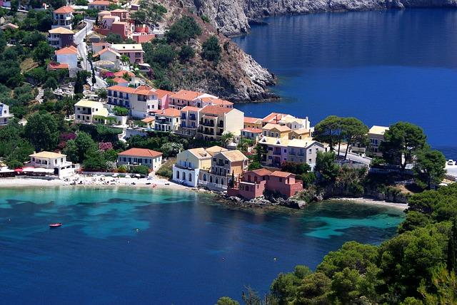 Dove alloggiare a Cefalonia - il villaggio di Assos