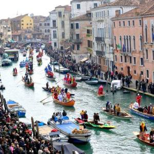 Carnevale single a Venezia