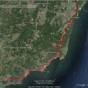 Mappa-RivieraDeiCiclopi cicloturismo