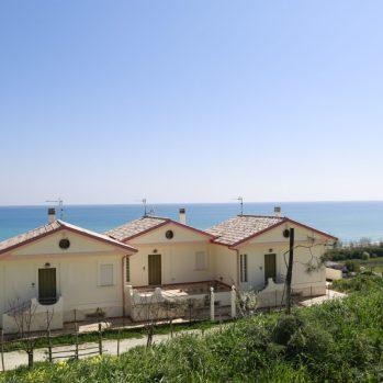 vista esterna della casa vacanze