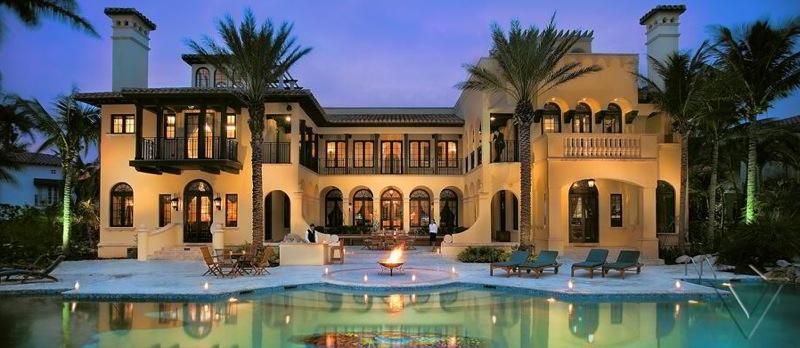Miami Beach Luxury Villa Vacation Rental near Star Island Miami Florida