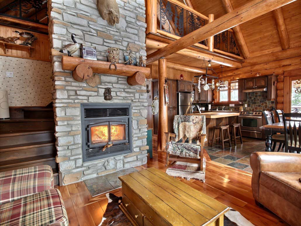 Quebec Holiday Cottage Rentals Close To The Lake Heron