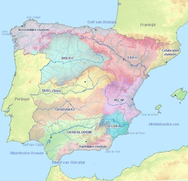 Rivers in Spain