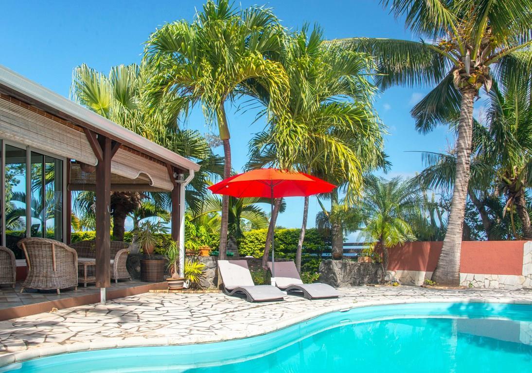 Location Villa Saint Pierre Ile de la Reunion avec piscine prive