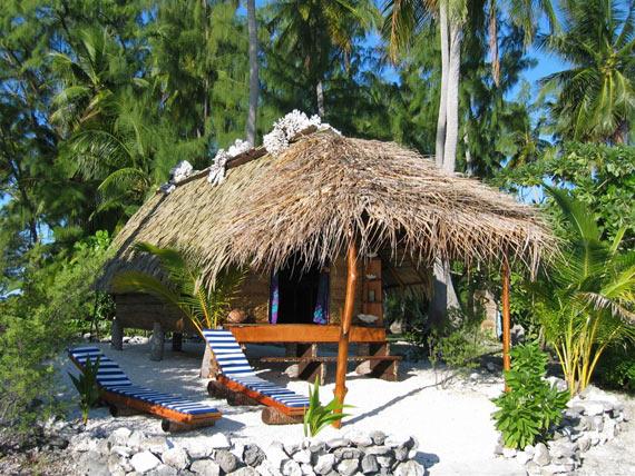 Iles Tuamotu  Fakarava Tetamanu Maison vacances Location Fare sur latoll de Fakarava  Tuamotu
