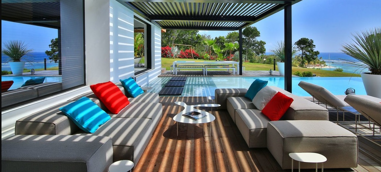 Location Villa Guadeloupe Luxe Sainte Anne avec piscine prive