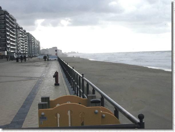 Flandre Occidentale Ostende Appartement Location Vacances Studio Appartement sur la plage sur la