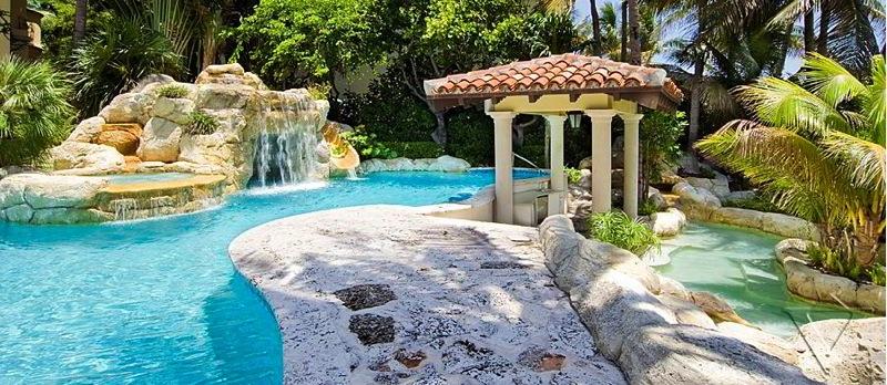 Location Villa de Luxe  Miami Beach prs de Star Island