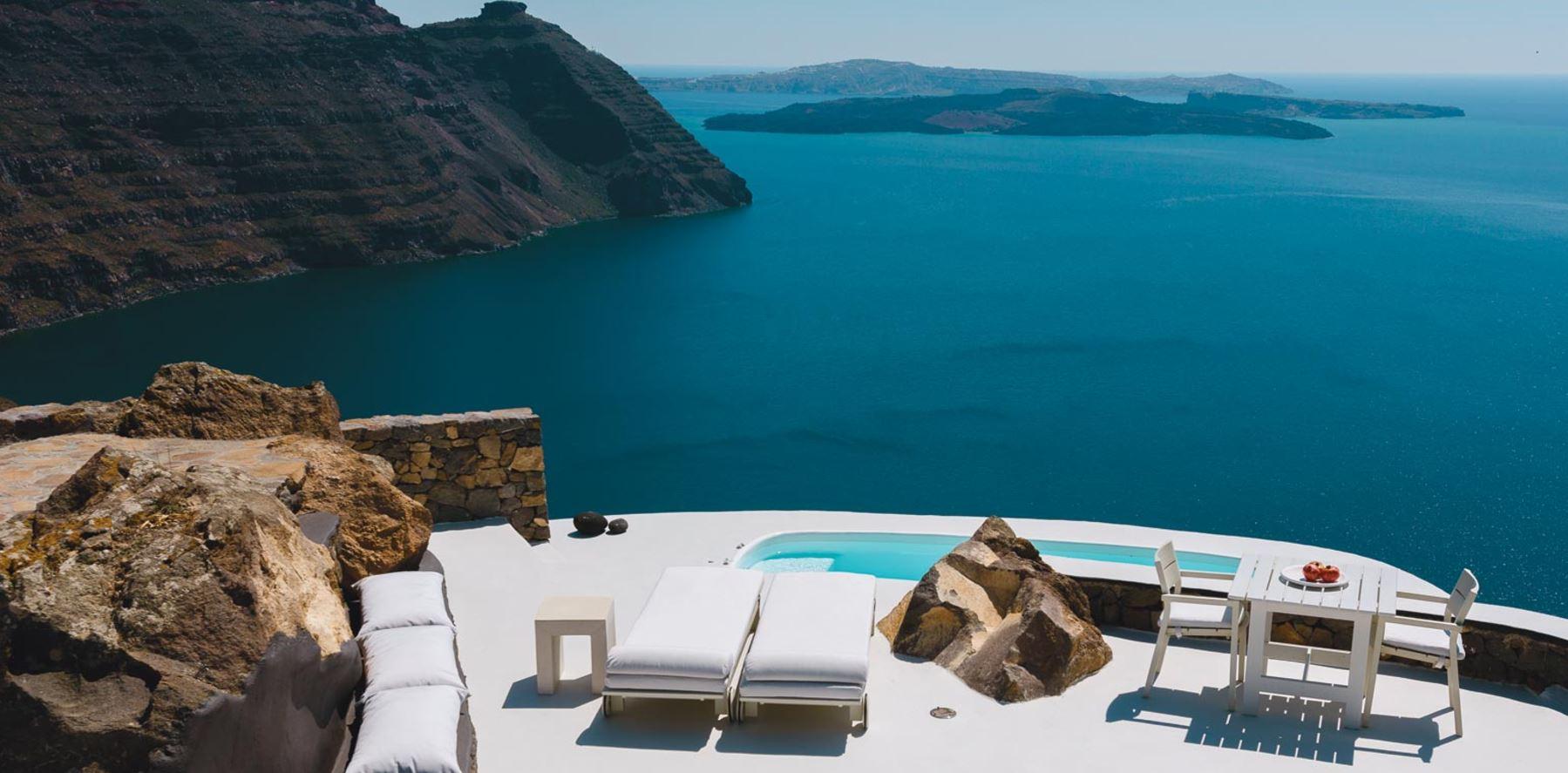 Grece Santorin Location Vacances Villa Caldera