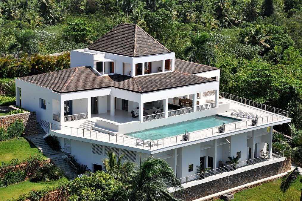 Location Villa Republique Dominicaine Las Terrenas sur Playa Las ballenas