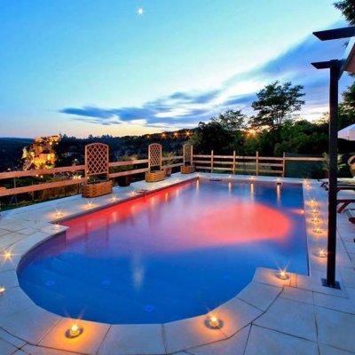 Location Gite Rocamadour avec piscine chauffe dans le Lot
