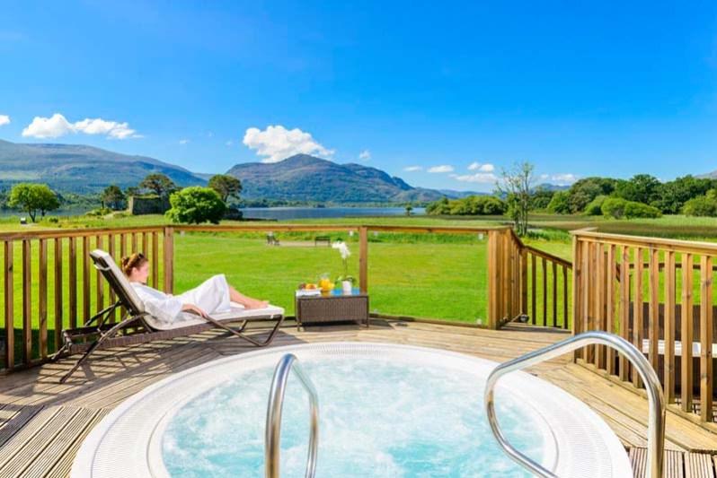 Killarney Hotel Hot tub