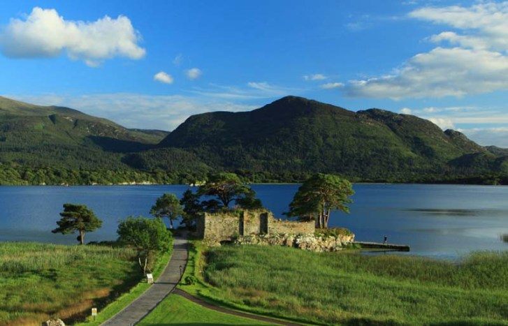 History of Killarney Castlelough Castle