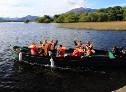 Boat trips in Killarney