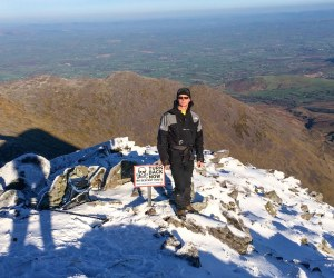 Niall Huggard on Carrauntoohil