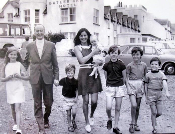Waterville 1970 Huggard Family