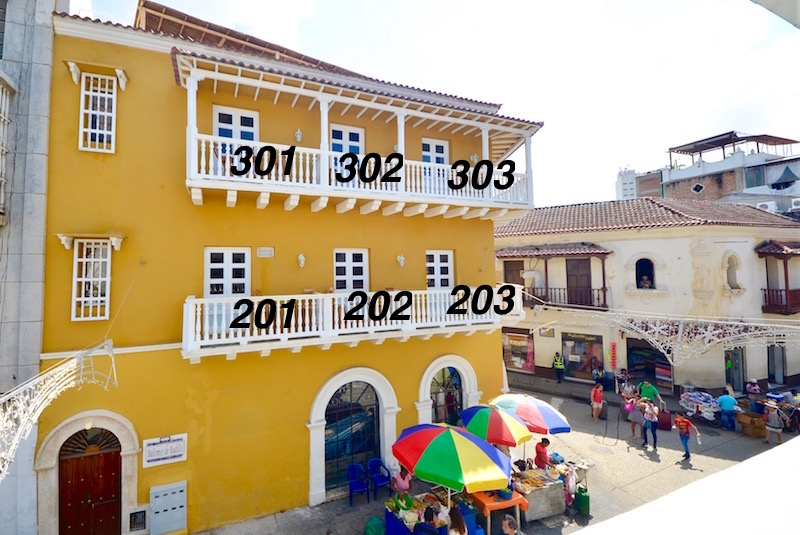 Balcones Apartments, Cartagena, Colombia
