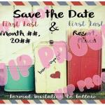 Baggage Save the Date