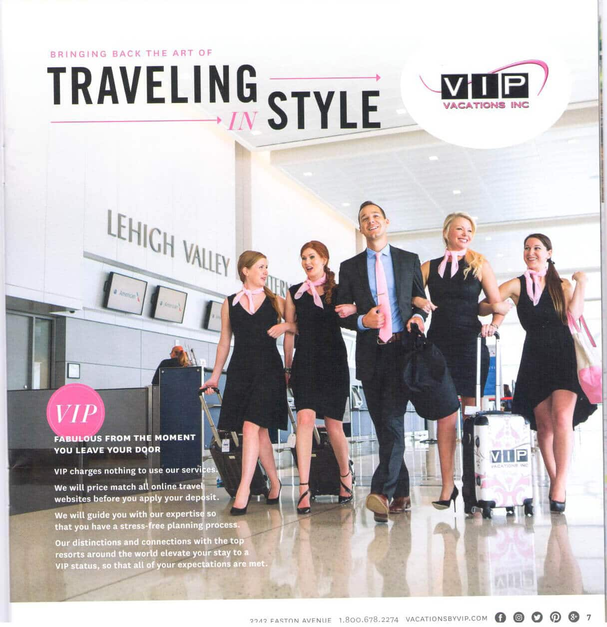 FIG Magazine VIP Vacations Feature | VIP Vacations Inc