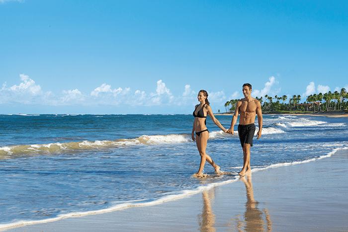 Stroll on the beach.